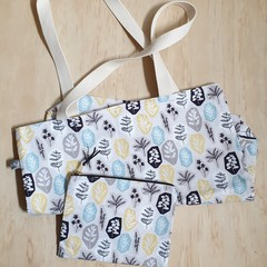 Gift pack special: OUMU reversible tote bag and zipper pouch.