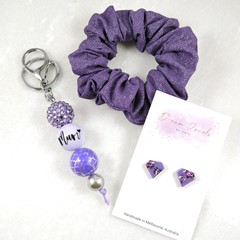 Mother's Day gift set - purple