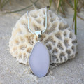 Purple Sea Urchin Pendant