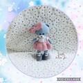 Crocheted Amigurumi Teddy