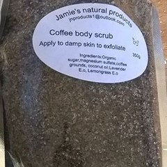 Coffee body scrub 350g