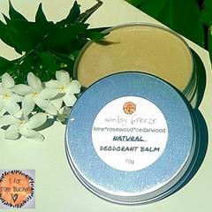 Magnesium Deodorant Balm- Woodsy scent
