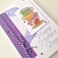 Mother's Day Card - Fancy Tea Cups