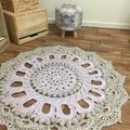 Crochet Large Floor Rug