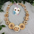Puppy Love - Button Fusion Necklace - Jewellery - Earrings