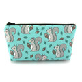 Squirrel Cosmetic Bag, Zip Pouch, Makeup Bag, Pencil Case
