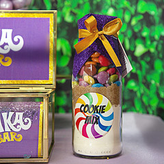 Willy Wonka Cookie Mix in a bottle. Makes 6 or 12 delicious cookies