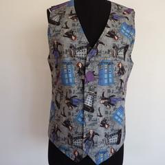 Vest - Dr Who Police Box