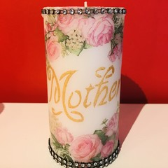 Mother's Day beautiful  candle