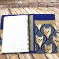 Cat Fabric Notebook Cover