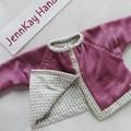 Baby Winter Jacket - Flannelette Lining - 3 - 6 months