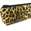 Leopard Pencil Case - Kids Boys and Girls Pencil Pouch - Zip Pouch - Small Bag