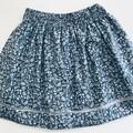 Beautiful blue and white girls skirt