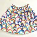 Rainbows girls skirt