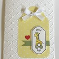 Baby kids Handmade Card