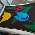 Tulip Garden Blanket