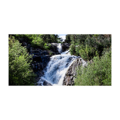 Steavensons Falls View 1x2 Panorama - Unframed Canvas or Poster