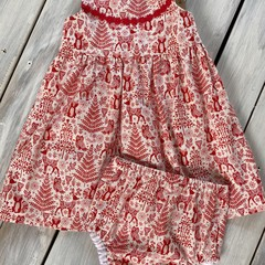 Dress and nappy cover
