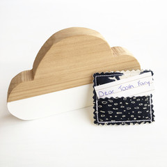 Tooth Fairy Pouch - Navy travel