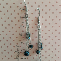 Snowflake Stone Earrings