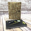 Numeric  Fabric Notebook Cover