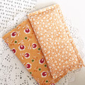 Fabric Bookmarks - Pale orange breeze