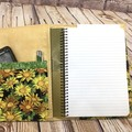 Yellow Daisies Fabric Notebook Cover