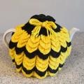 Tea Cosy Knitting Nana's  with Draw String Top