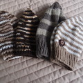 *Special * 4 beanies: (3-5yrs): Washable, boy, winter, soft
