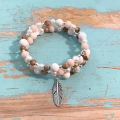 Sand and Stone Bracelet Stack