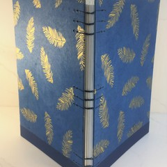 Large Sketchbook, Handmade Coptic Lay Flat Stitch, Quality Canon Paper