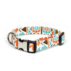 Canvas Dog Collar | Metal Plastic Buckle | Hiker Design