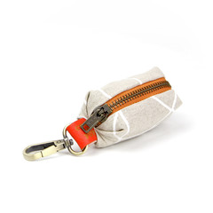 Poop Bag Dispenser | Dog Waste Bag | Poop Bag Holder | Sandy Design