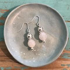 Agate Bracelet stack & earrings