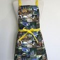Vintage Style Womens Kitchen Cooking Apron FREE Post!