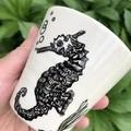 Seahorse  cup