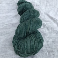 'Forest' 5ply hand dyed superfine merino yarn