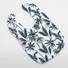 Tropical palm bib