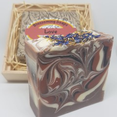 Artisan Soap Aromatherapy LOVE in a box