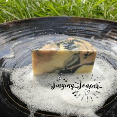 'If You Wanna Be My Lather' Lemongrass and Spearmint Hand Made Soap