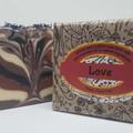 Artisan Aromatherapy  Soap LOVE Palm Free
