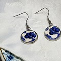 Blue Willow Earrings