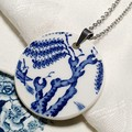 Booths Blue Willow pendant