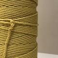 Mustard | Cotton Macrame Rope