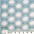 Blue Modern fabric - Cotton Fabric - Price per half metre