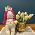Pink Princess Hand sewn Sock Dolls - Anniversary, Baby Shower