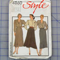 Style 4860 set of skirts pattern. Size 18. Uncut pattern
