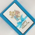 Mother's Day Card - Turquoise, Vases