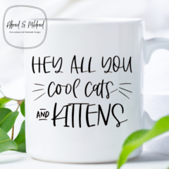 Cool Cats and Kittens mug / Carole Baskin / Tiger King