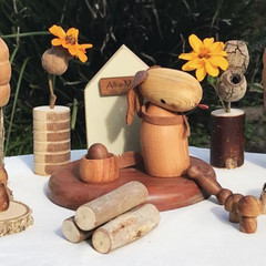 Toys of Wood - Dog Playground set